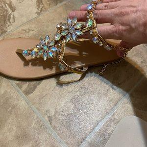 Rhinestones sandals